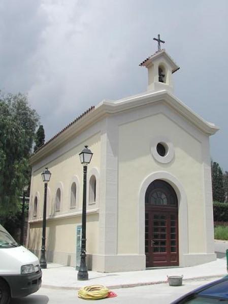 Capilla del cementerio de Montjuic